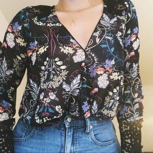 Free People Intimately Floral Body Suit